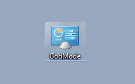 Setup GodMode Windows 10