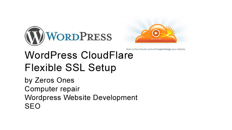 WordPress CloudFlare Flexible SSL Setup