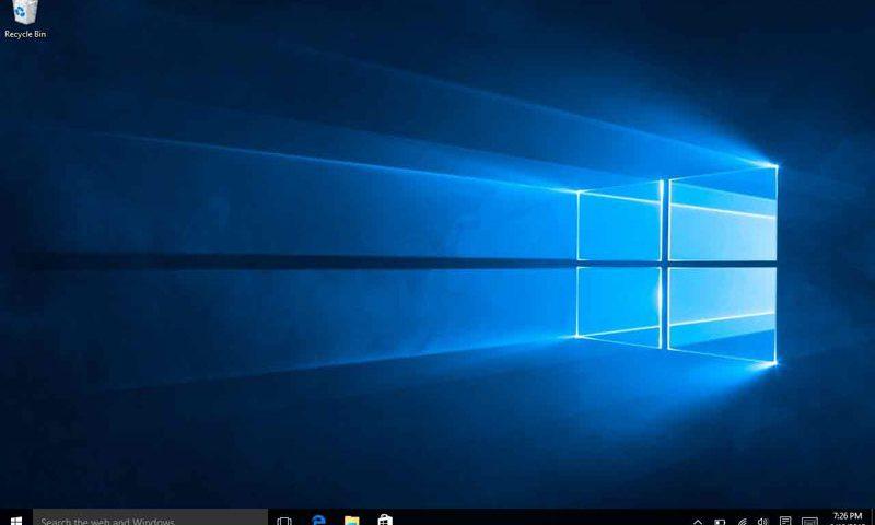 Install Windows 10 using Windows 7 Product key